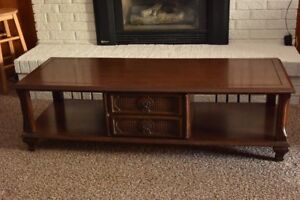 Antique Mahogany coffee table and end tables
