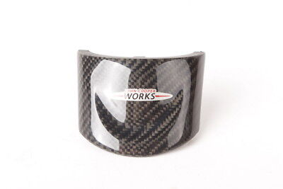 MINI JCW Steering Wheel Middle Carbon Trim Cover 32302147228