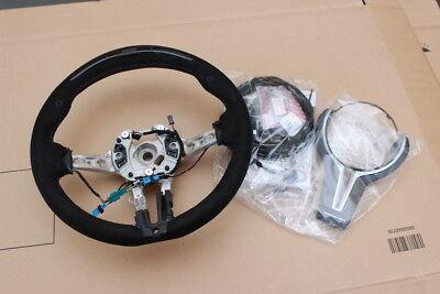 BMW M Performance Steering Wheel Alcantara Race-Display M2 F87 Carbon Cover