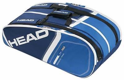 Head CORE 9R Supercombi - Tennistasche blau - UVP 69,95 €