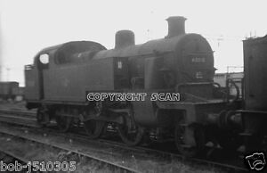 Railway-Steam-Photo-40010-Ex-LMS-3P-FOWLER-WILLESDEN-in-1960