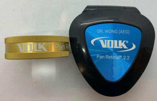 Volk Pan Retinal 2.2 Classic BIO Lenses - Gold