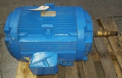 Ge 5k284jl158a 30 Hp 3 Phase Electric Ac Motor