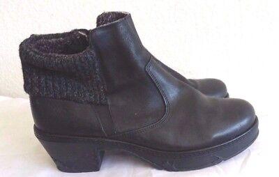 New Cloud Fab Plush Cuff Platform Boots  Sz38  Rt 199  Italy