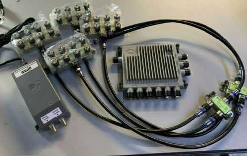 DIRECTV SWM-30 COMPLETE KIT W/ 29V Power Supply 2- 2WAY & 4- 8WAY Splitters NEW