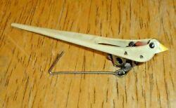 Vintage August Schwer Black Forest Cuckoo Clock Movement Bird Made In Germany