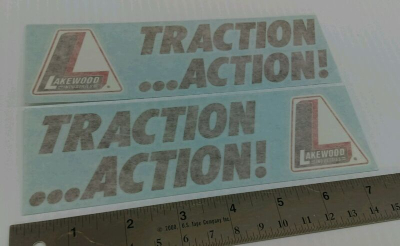 Lakewood Traction Action Decals Stickers Grumpy