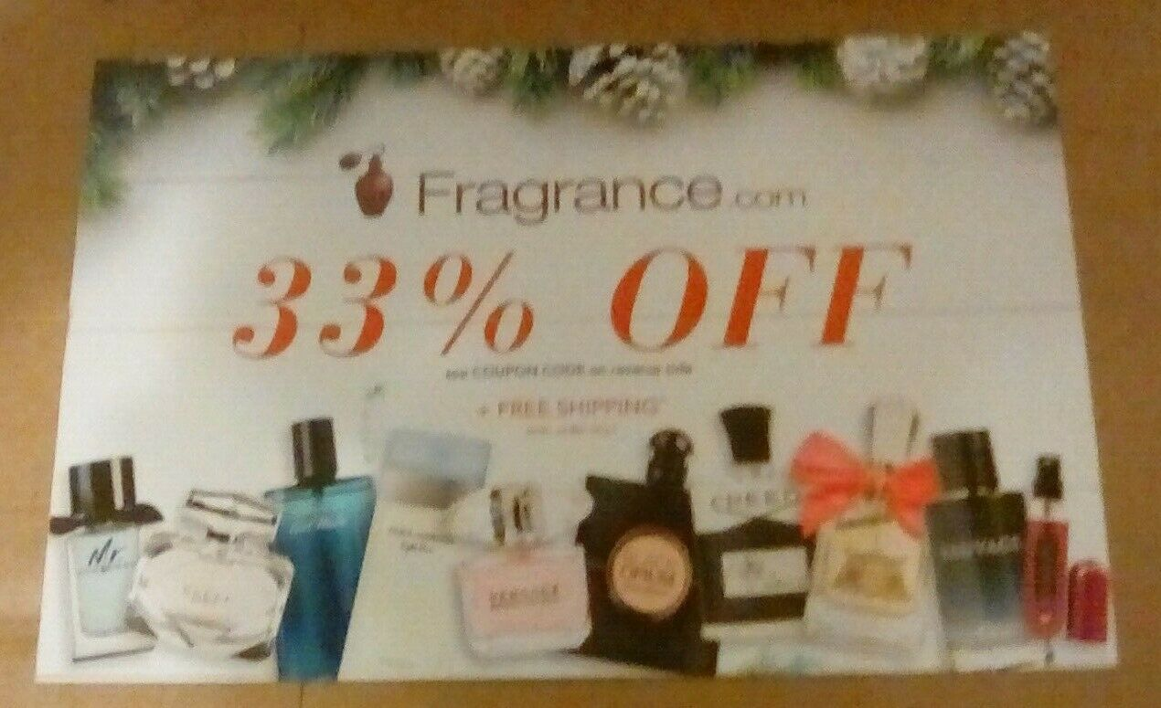 Fragrance.com 33 OFF Coupon  - $5.00