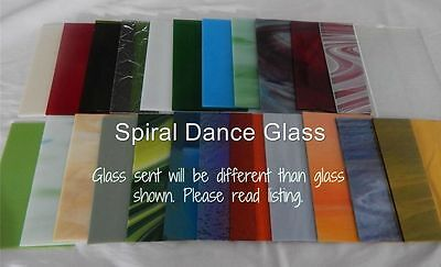 "20 Sheets SPECTRUM Stained Glass (4"" x 6"") Opals Cathedrals Texture Free Ship"
