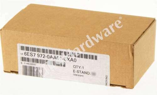 New Sealed Siemens 6ES7972-0AA01-0XA0 6ES7 972-0AA01-0XA0 SIMATIC DP RS485 Qty