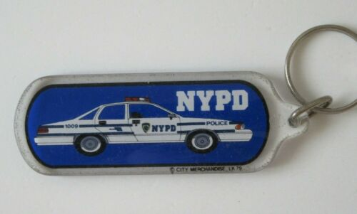 NYPD New York City Police Department Keychain