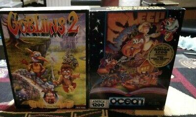 Lotto 2 giochi Amiga Gobliins 2 e Sleep Walker - completi
