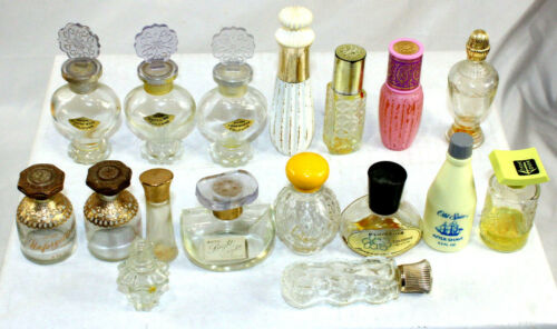 Avon Perfume Bottles Vintage lot of 17 Decorative Collectibles