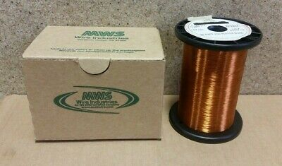 Nos 1.0 Lbs Mws Polyester Bond Sapt 36 Awg  Magnet Winding Wire S28t