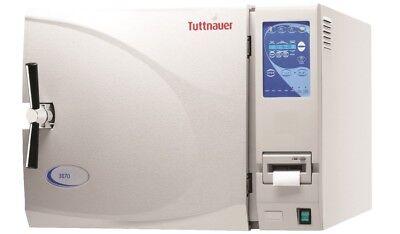 New Tuttnauer 3870eap Large Automatic Autoclave Steam Sterilizer Wprinter