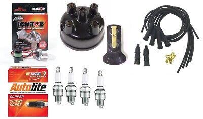 Electronic Ignition Tune Up Kit Case Tractor Prestolite Distributor 12v Neg