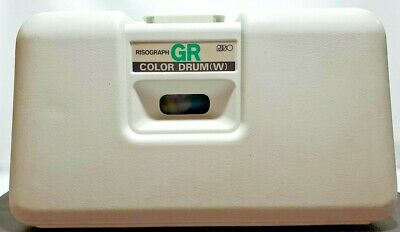 Risograph Gr Color Drum W Green For Riso Printer Not Tested Parts Only Has Ink