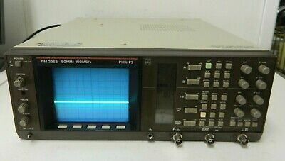 Philips Pm3352 Oscilloscope Oszilloskop 50mhz 100mss