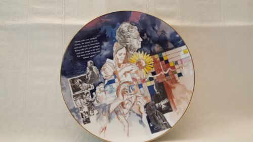 "1984 PLATE LUTHERAN GENERAL MEDICAL CENTER HERITAGE ""SPIRIT"" COLLECTION 9 1/2"""