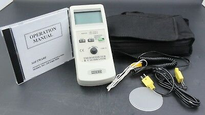 Reed Thermometer And Calibrator With Software Tc-920discontinued Used
