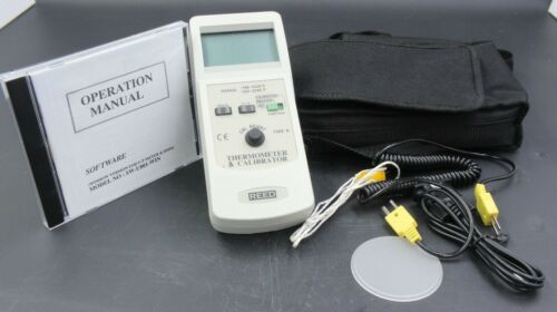 Reed Thermometer and Calibrator with Software, TC-920(Discontinued), Used
