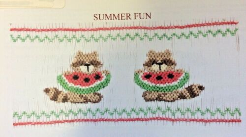 JUNEBUG DESIGNS SMOCKING PLATE- SUMMER FUN