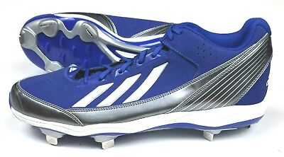 the best attitude 0d5cb 56e98 ADIDAS BASEBALL CLEATS Size 11.5 M BLUE