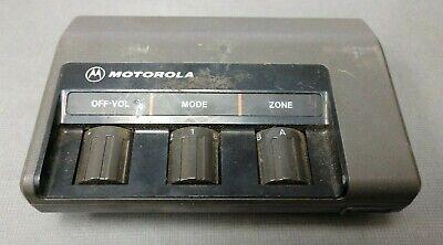Vintage Motorola Maratrac Mitrek Clam Shell Control Head Hcn4034a