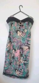 Banded wiggle dress size 16