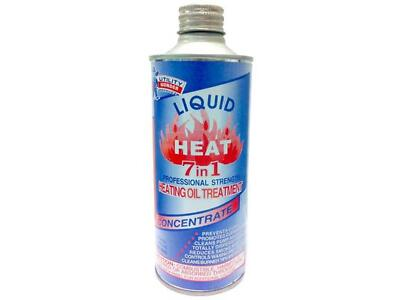 LOT OF 4  HEATING OIL TREATMENT ADDITIVE 7 IN 1 WATER DISPERSER ANTI-GEL 16 OZ.