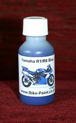 <em>YAMAHA</em> R1 R6 BLUE PAINT   TOUCH UP PAINT