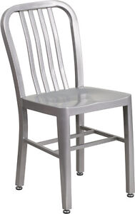 RESTAURANT INDUSTRIAL METAL DINING CHAIR