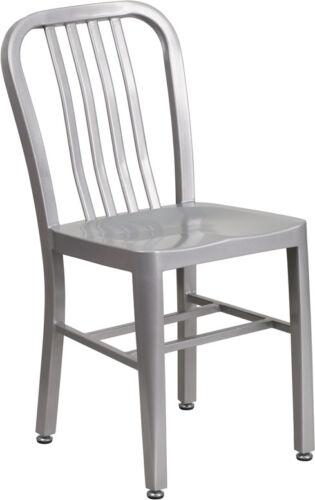Lot Of 20 Silver Metal Indoor-outdoor Chair