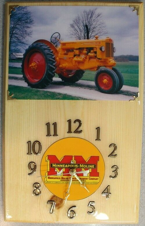 Minneapolis Moline Z Clock