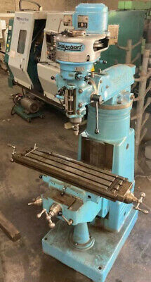 Vertical Milling Machine 1 Hp 3 Phase Or Single Phase With Tooling