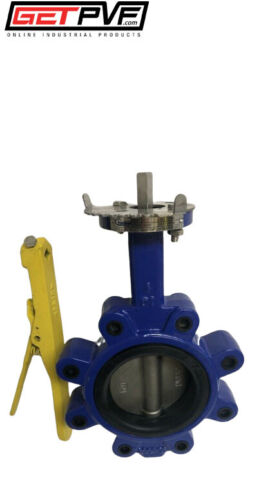 "4"" Lug Butterfly Valve Ductile Iron Body 316 SS Disc"