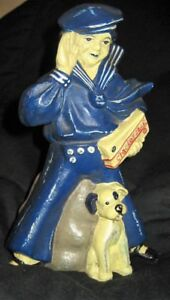 Cracker Jack Cast Iron Bank. Rare Collectable, Now$15.July 24