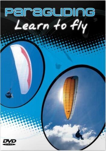 Paragliding DVD learn to Fly comprehensive tutorial beginner and intermediate