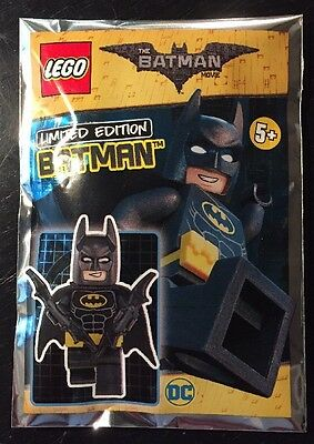 "LEGO 211701 The LEGO Batman Movie  ""Limited Edition"" Minifigure DC Foil Polybag"
