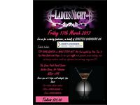 Charity Ladies Night
