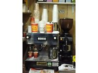 COFFEE KIOSK IN PLAISTOW FOR SALE UNDERGROUND STATION £12,000