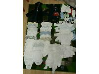 Baby boy clothes Bundle. Newborn tiny baby next