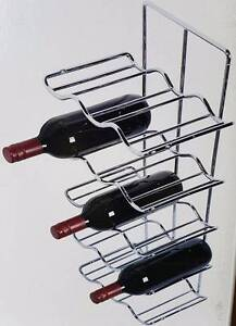 Chrome 15 Bottle Wine Rack Hafele Install into Cabinets RRP$230 Officer Cardinia Area Preview