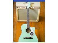 PRICE DROP Fender Sonoran Electro Acoustic Guitar