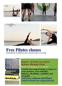 FREE 24Fit PILATES CLASSESS Homebush Strathfield Area Preview