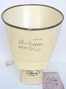 "Vintage Face Steamer ""Solaray"""