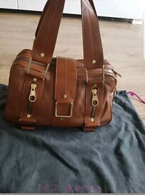 Ted Baker Tan Leather Bag