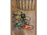 Radica Sega Megadrive Streetfighter 2 and Ghouls and Ghosts plug and play tv game