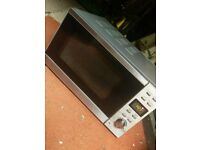 Silver microwave 800w