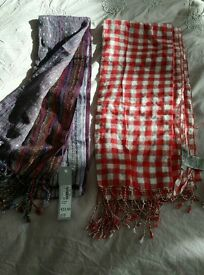 New with tags scarves